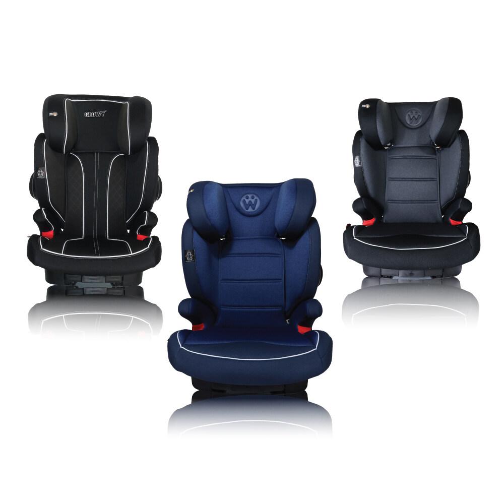 คาร์ซีทเด็กโต Glowy รุ่น Magic Ii สำหรับเด็ก 4-12 ขวบ (15-36 Kg) ติดตั้งได้ทั้ง Isofix และเข็มขัดนิรภัย 3 จุดของรถยนต์.