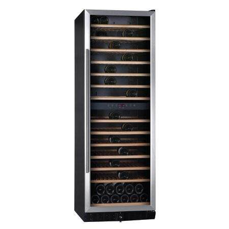 Temptech ตู้แช่ไวน์ รุ่น Classic Vwcr155ds - สีเงิน บรรจุ 155 ขวด By Temptech.