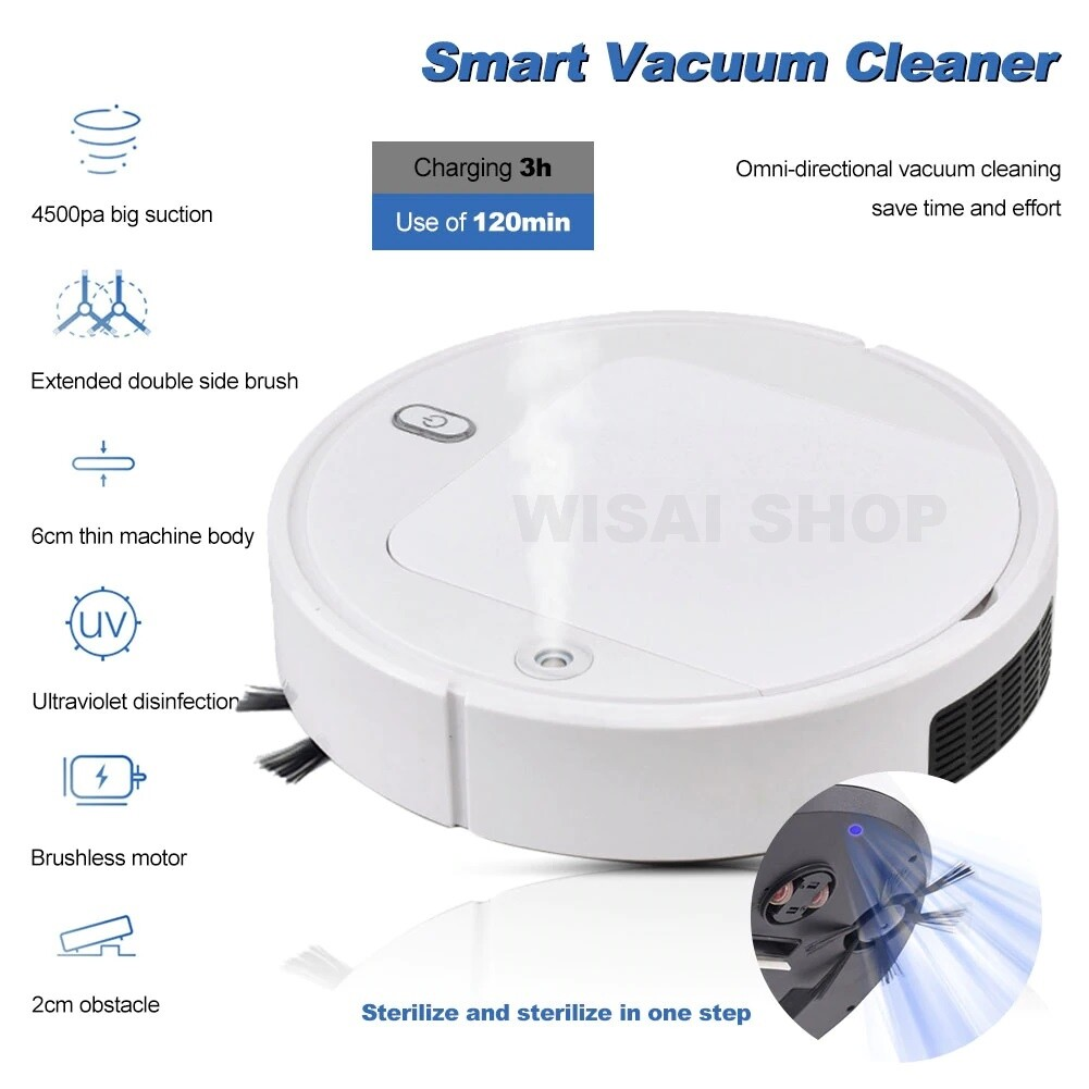 Smart Vacuum Cleaner หุ่นยนต์ดูดฝุ่นอัจฉริยะ 4 in 1 รุ่น IS28A