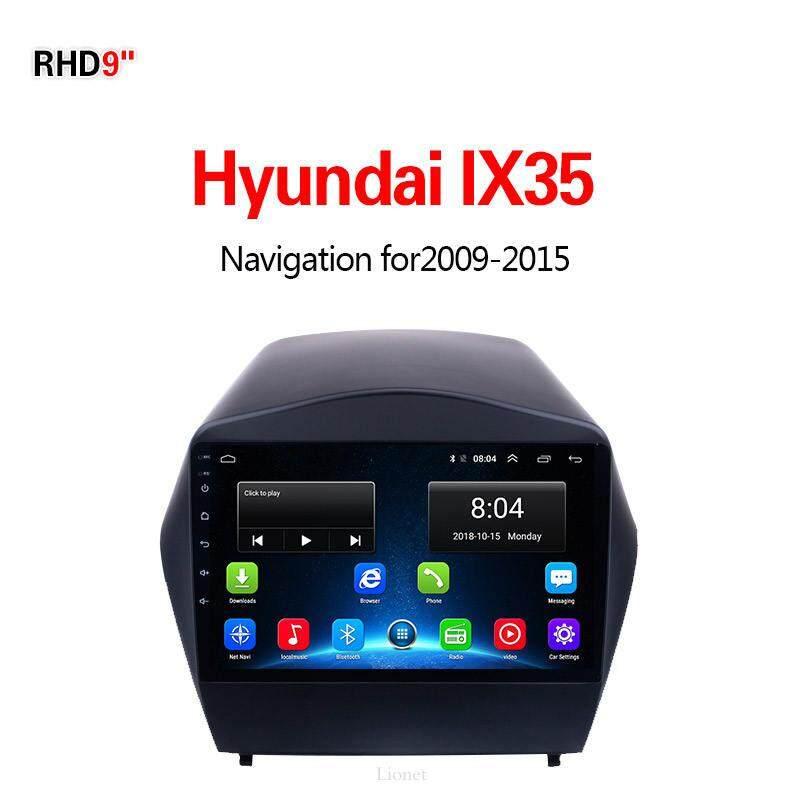 เครื่องนำทาง สำหรับรถยนต์ Hyundai Ix35 2009-2015 9 Inch Android 6.0 4g Net 1g/16g แผนที่ในการนำทาง By Gointer.