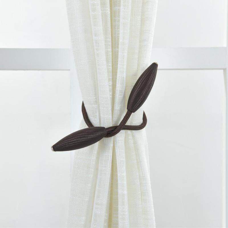 [[Chinatera] 2 chiếc Màn Thắt Lưng Dù Chiến Thuật Phối Olive Holdbacks Trang Trí Giá Đỡ Khóa Kẹp Gọn Số Màn Phụ Kiện Dây Đeo