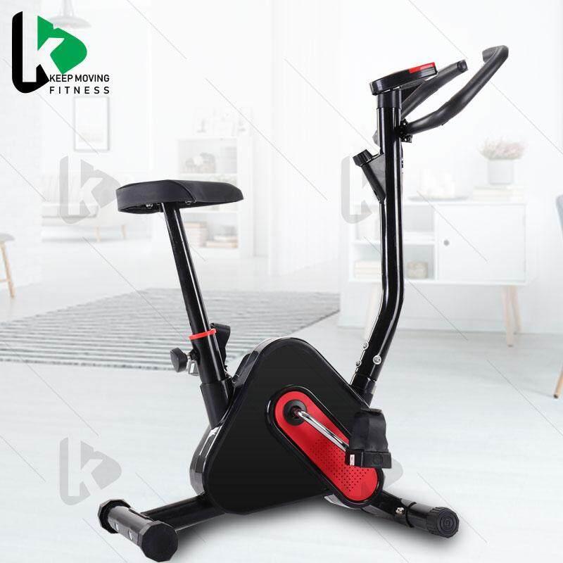 จักรยานออกกำลังกาย เครื่องออกกำลังกาย จักรยานปั่นในบ้าน ขนาดกระทัดรัด วัสดุทนทานแข็งแรง จักรยานบริหาร Fitness Exercise Bike