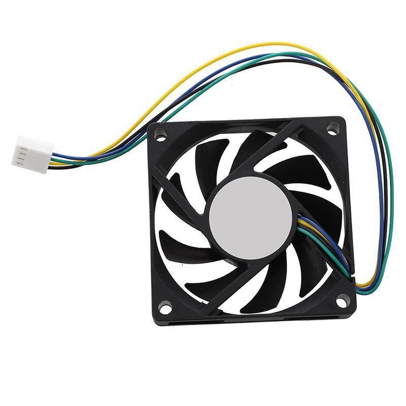 Bảng giá 70x70x15mm 12V 4 Pins PWM PC Computer Case CPU Cooler Cooling Fan Black Phong Vũ