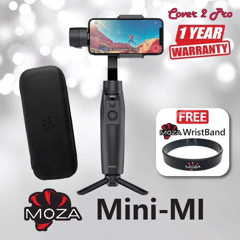 Moza Mini Mi ไม้กันสั่น 3 แกน ชาร์จไร้สาย สำหรับมือถือ Smartphone (สินค้าประกัน 1 ปี) แถมฟรี ริสแบนด์ Moza จาก Cover 2 Pro.