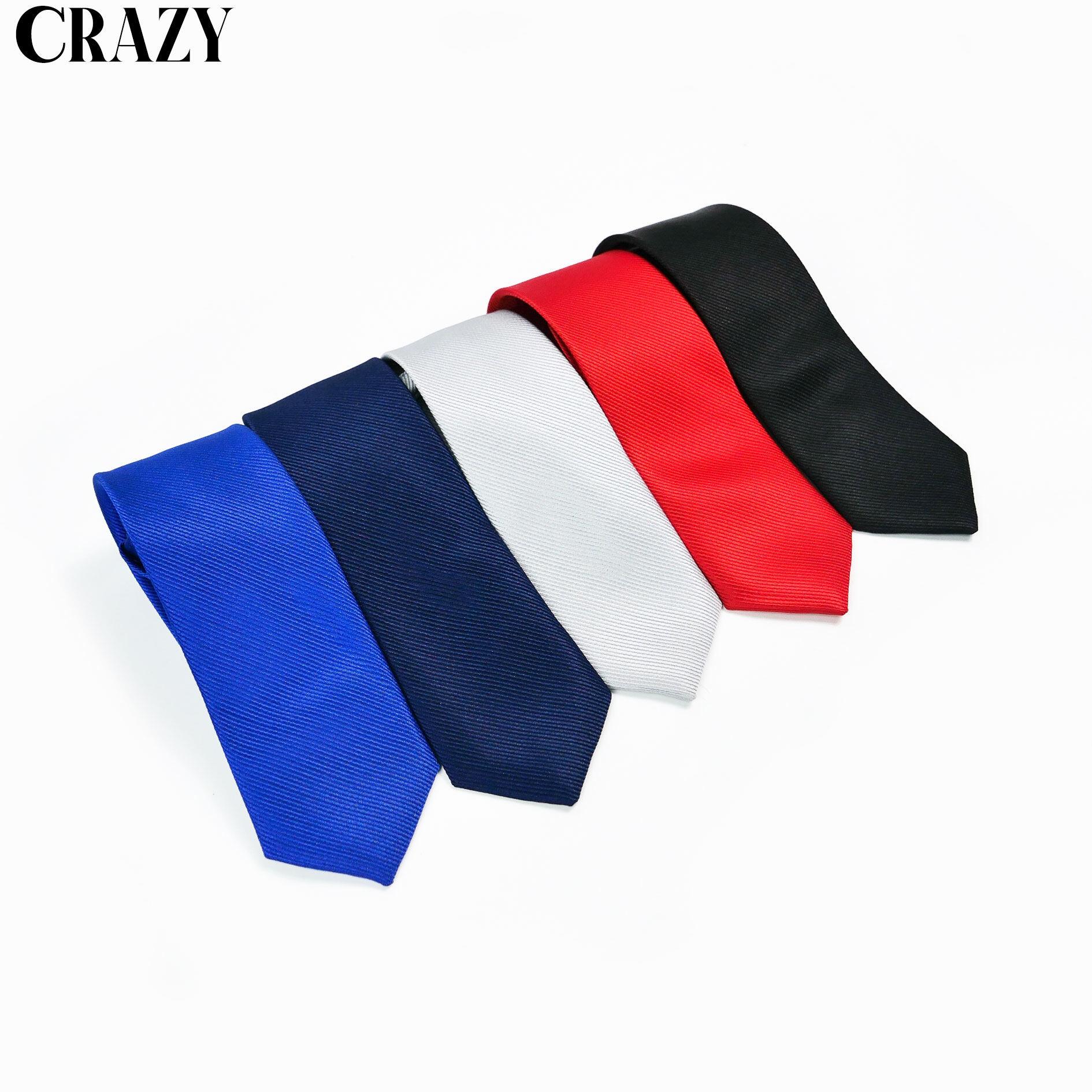 เนคไท แฟชั่นเกาหลีสำเร็จรูป (nt) พร้อมผูกในตัวสี Navy,red,black,blue,silver.