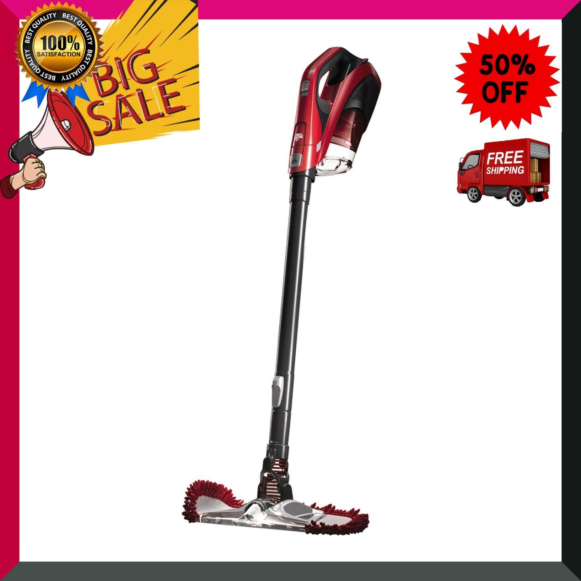 DIRT DEVIL เครื่องดูดฝุ่นไซโคล รุ่น DSV360THA สีแดง เครื่องดูดฝุ่น เครื่องทำความสะอาด เครื่องดูดฝุ่นอัตโนมัติ หุ่นยนต์ดูดฝุ่น Vacuum Cleaner สินค้าคุณภาพ Premium ***จัดส่งฟรี***