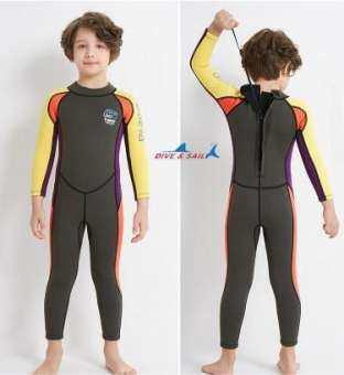 ชุดว่ายน้ำกันหนาว ชุดว่ายน้ำควบคุมอุณหภูมิ Dive & Sail 2.5 MM Neoprene-
