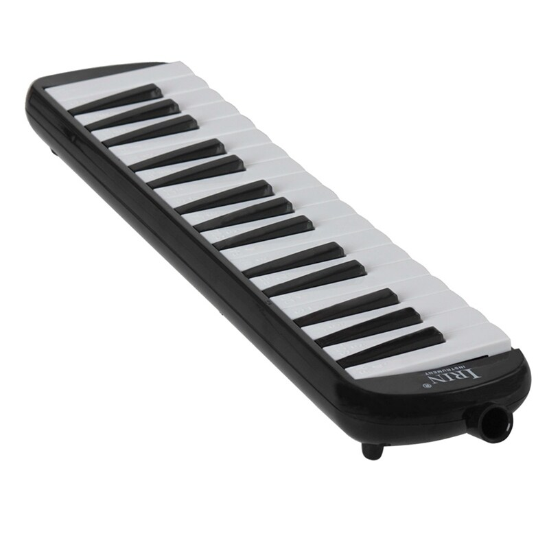 IRIN 32 Piano Keys Keyboard Pinao Melodica Musical Instrument for Music Lovers Carry Hard Musical Present Box (black) Malaysia
