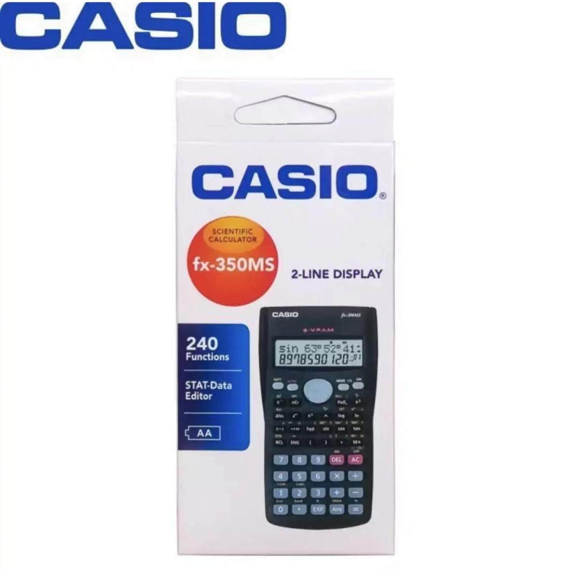 Casio เครื่องคิดเลขวิทยาศาสตร์ รุ่น Fx-350ms.