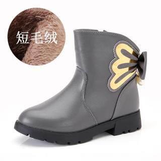 Mùa Đông 2021 Mẫu Mới Da Thật Bé Gái Bốt Trẻ Em Bốt Ngắn Ống Giày Công Chúa Phiên Bản Hàn Quốc Dr. Martens Con Gái Khởi Động thumbnail