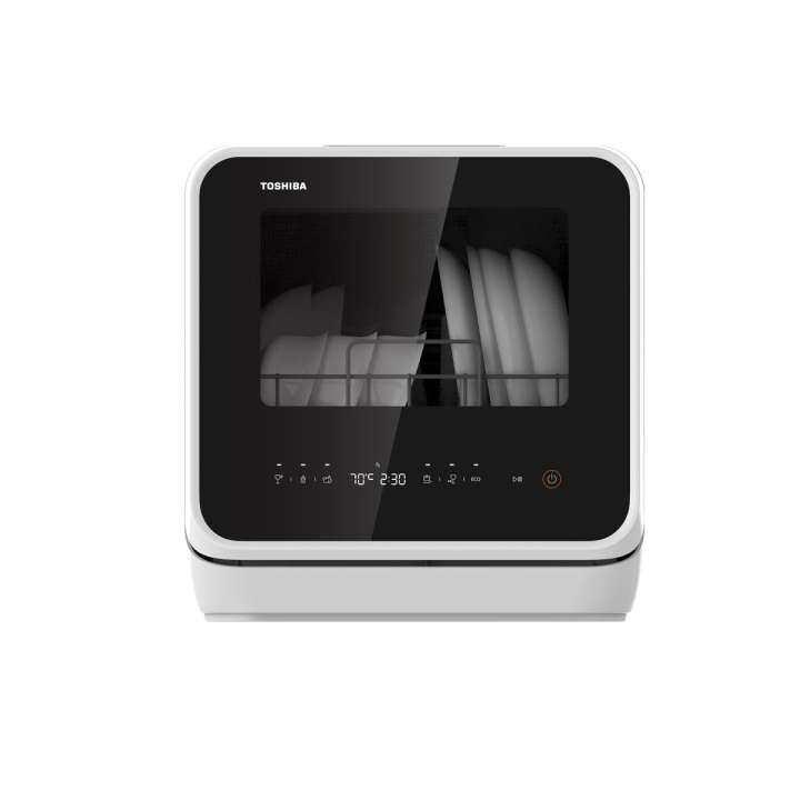 Toshiba เครื่องล้างจาน Toshiba รุ่น  DWS-22ATH(K) ประหยัดกว่าล้างด้วยมือ 7 เท่า โดยใช้น้ำเพียง 5 ลิตร