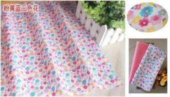 ลายทะแยงฝ้าย100% ผ้าโพกหัวงานฝีมือผ้าม่านเย็บด้วยมือ DIY ผ้าผ้าม่านเครื่องนอน Bjd SD เสื้อผ้าสีชมพูกลุ่มผ้า B