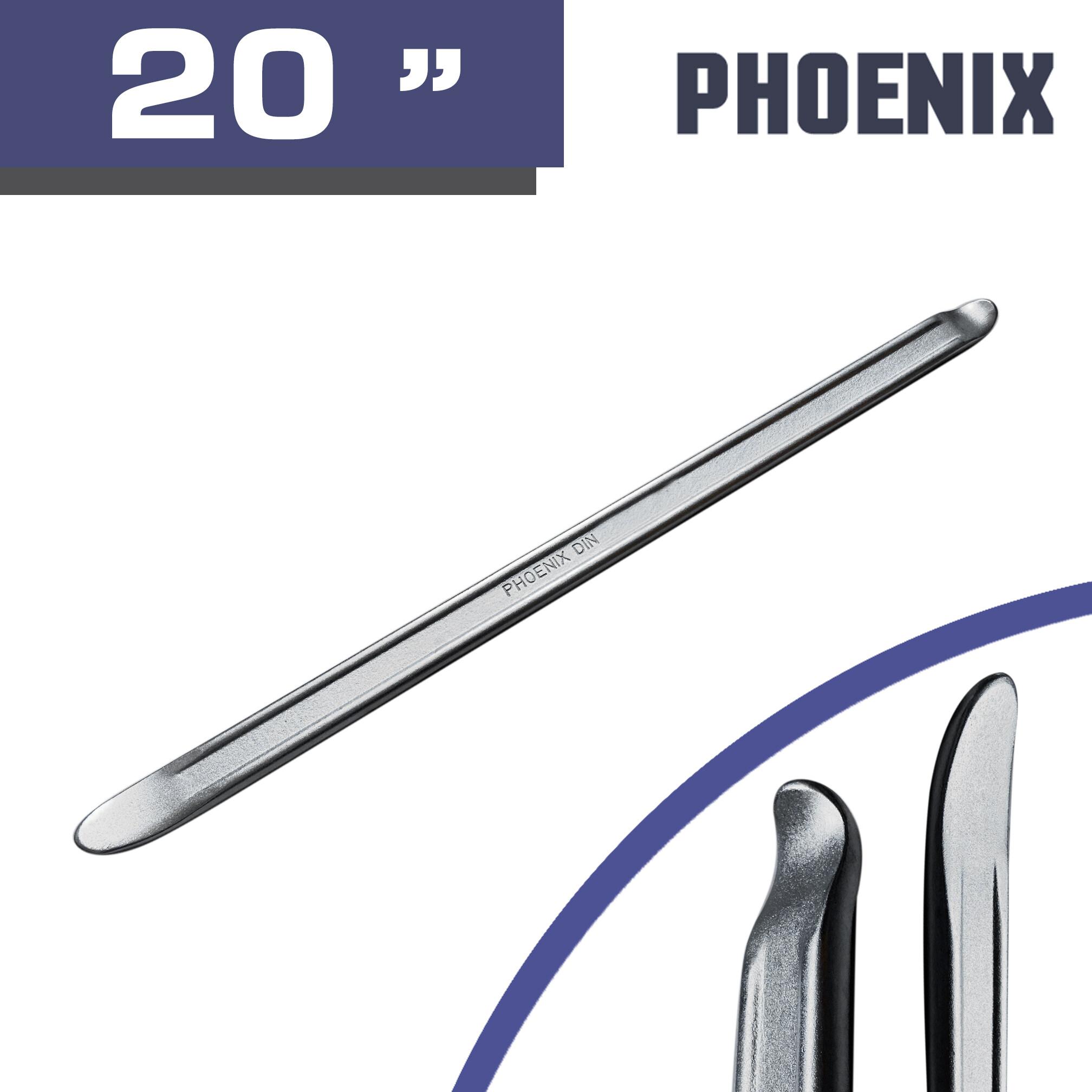 Phoenix เหล็กงัดยาง อย่างดี เหล็ก Chrome vanadium (4 ขนาด เลือกได้ตอนสั่งซื้อ)