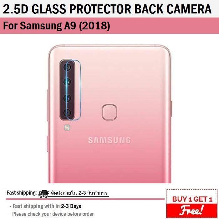 1 ฟรี 1 - ฟิล์ม กระจกนิรภัย กันรอย เลนส์ กล้องหลัง Samsung A9 2018 - 9h Tempered Glass For Protection Lens Back Camera Samsung A9 2018.