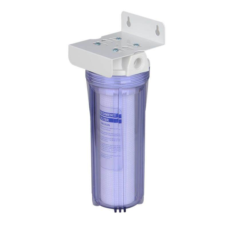Drinking Water Filter Housing 10-Inch First Level Water Purifiers PPF Pre-Filter with Quick Fittings and RO Wrench