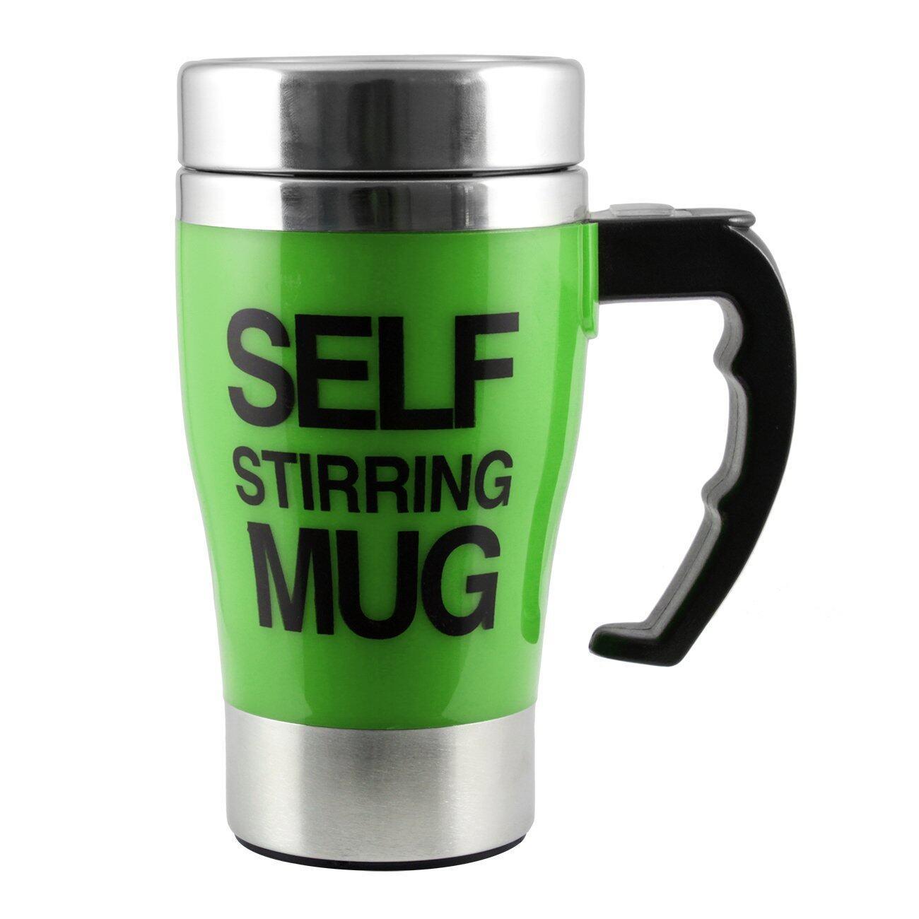 rayton Self Stirring Mug แก้วชงกาแฟอัตโนมัติ (Green)  ลดล้างสต๊อก ( สินค้ามีจำนวนจำกัดหมดเเล้วหมดเลย)