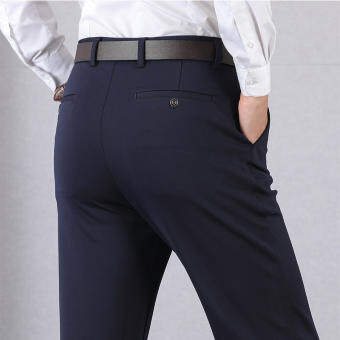 Men Fashion Shop กางเกงสแล็คชาย ผ้ายืด ทรงกระบอกเล็ก กางเกงสแลคผู้ชาย กางเกงใส่ทำงานผช