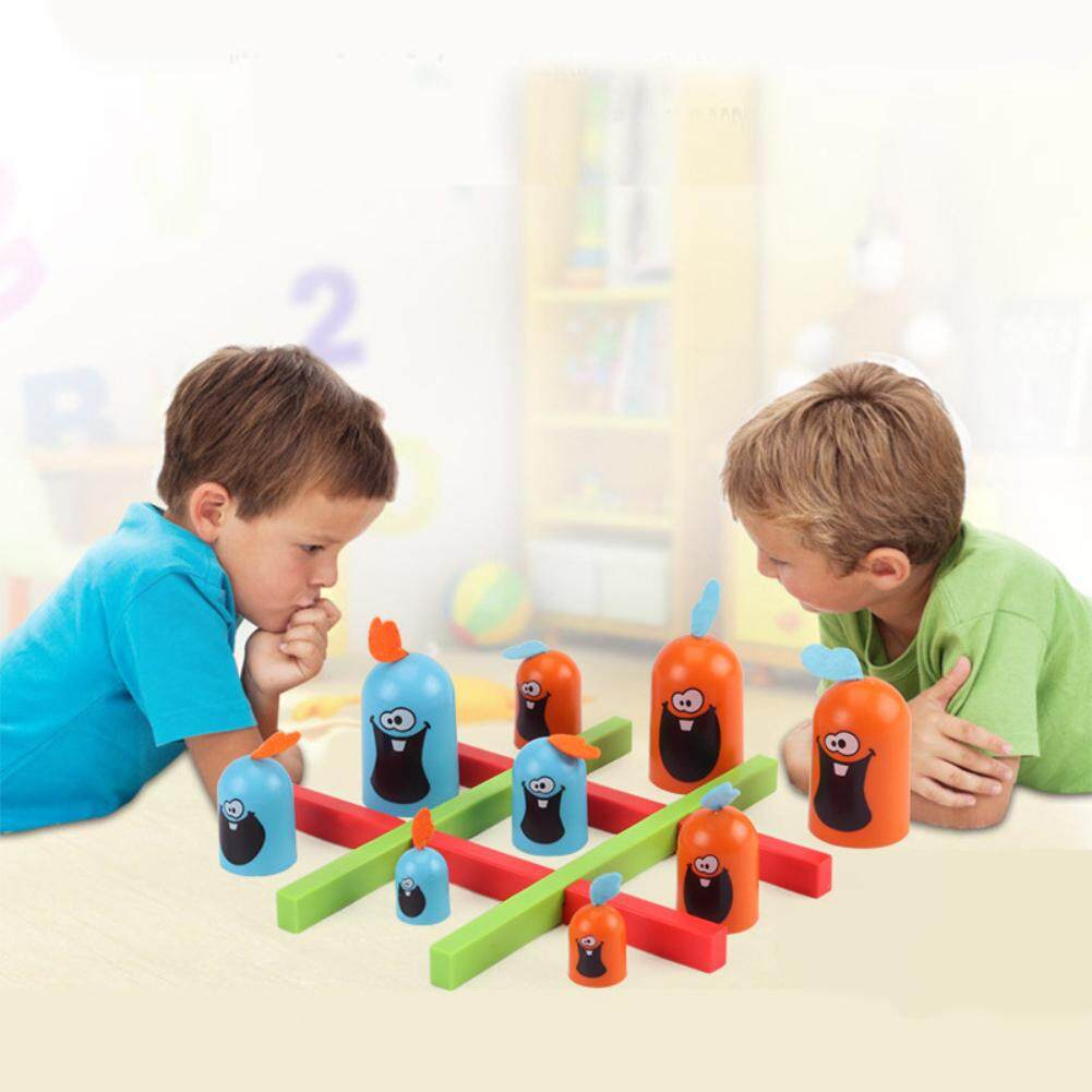 Ds Gobblet Gobblers เกมกระดานหมากรุกเด็ก Party ของเล่นสำหรับสัตว์เลี้ยง By Dsstyles.