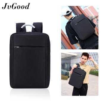JvGood กระเป๋าใส่แล็ปท็อป Slim Laptop Backpack Lightweight School Bookbag Business Computer Backpack for 15.6 Inch Laptop with Aluminium Handle-