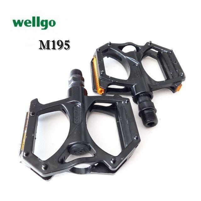 บันไดจักรยาน บันไดอลูมิเนียม Wellgo รุ่น M195 Du.
