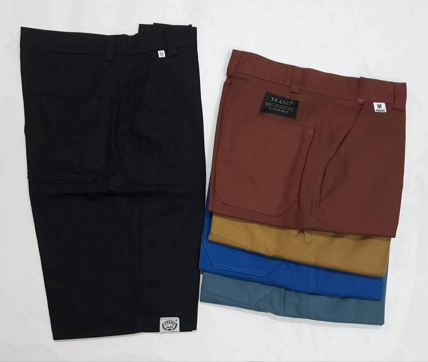 กางเกงขาสั้น ผู้ชาย สีพื้น ราคาสบายกระเป๋า มีหลายสี By Nanashop02.