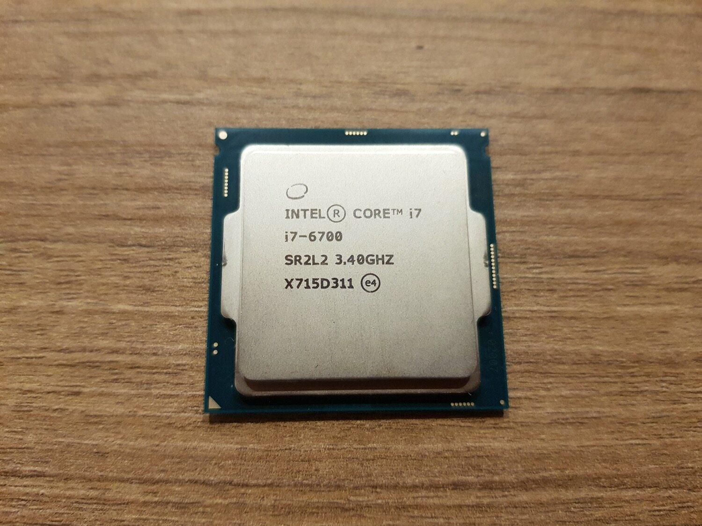 Lga 1151 Cpu I7-6700 3.4 Ghz. Cores: 4 Threads: 8.