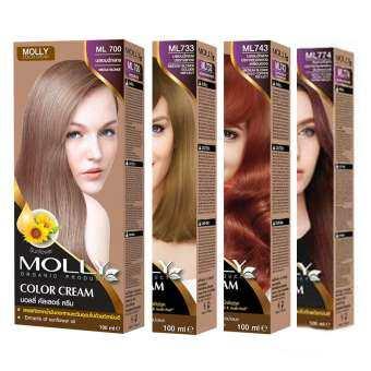 แนะนำ มอลลี่ Molly Color Cream ML700, ML733, ML743,ML774