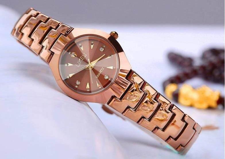 นาฬิกาควอตซ์ กันน้ำ30m บางพิเศษ แฟชั่นสไตล์สาวเกาหลี By Loveshopingmore.