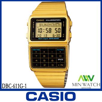 นาฬิกา รุ่น Casio นาฬิกาข้อมือผู้ชาย รุ่น DBC-611G-1DF - Gold จากร้าน MIN WATCH