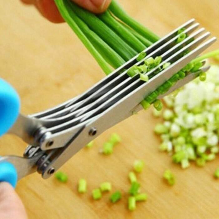 กรรไกร ซอยต้นหอม ซอยผัก หรือสมุนไพร สะดวกง่าย คุณภาพดี ทนทาน ใช้งานนาน By Fbk.