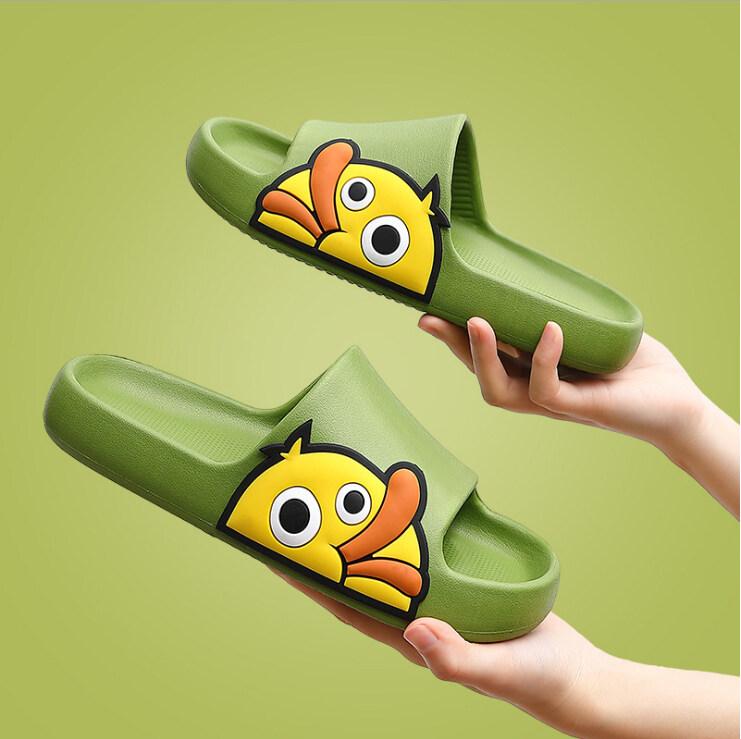 [cod] สินค้าพร้อมส่ง?รองเท้าแตะน้องเป็ด รองเท้าคู่ รองเท้าใส่ในบ้าน รองเท้าใส่ในห้องน้ำ รองเท้า แตะพื้นกันลื่น รองเท้าฤดูร้อนสุดน่ารัก.