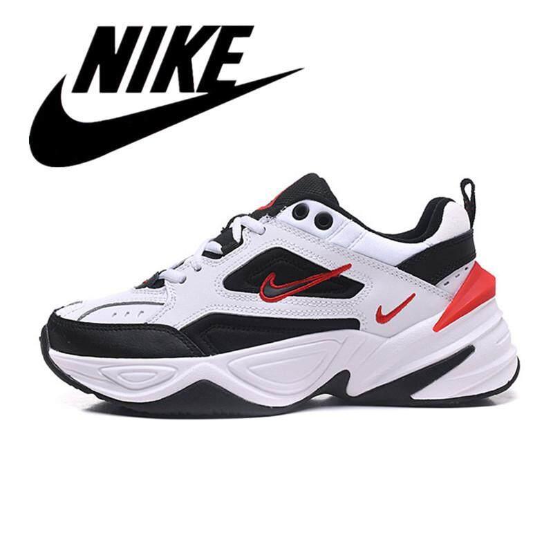 b3c2489c86f68 2019 Hot Top Original Nike M2K TEKNO Vintage Men's Sneakers Women's Running  Shoes White Red LOGO AO3108-004 36-44 Good quality Discount