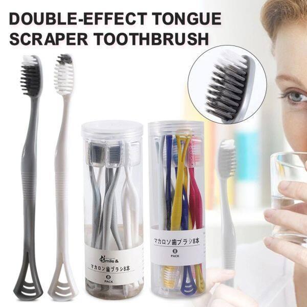 Rau Mùi 8 Sản Phẩm Dụng Cụ Vệ Sinh Răng Miệng Phòng Tắm Cho Nam, Bộ Bàn Chải Đánh Răng Cải Thiện Hôi Miệng, Bộ Chăm Sóc Răng Miệng Dụng Cụ Cạo Lưỡi giá rẻ