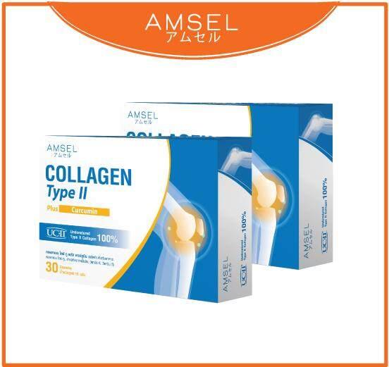Collagen Type Ii Plus Curcumin (คอลลาเจนไทป์ทู พร้อมสารสกัดจากขมิ้นชัน) X 2 กล่อง.