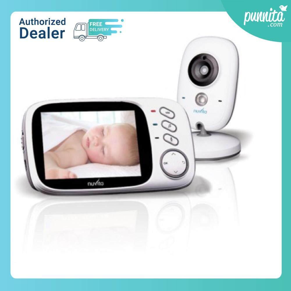 โปรโมชั่น Nuvita Video baby monitor กล้องพร้อมจอมอนิเตอร์รุ่นใหม่ ใช้งานง่ายมาก [Punnita Official Shop Authorized Dealer]