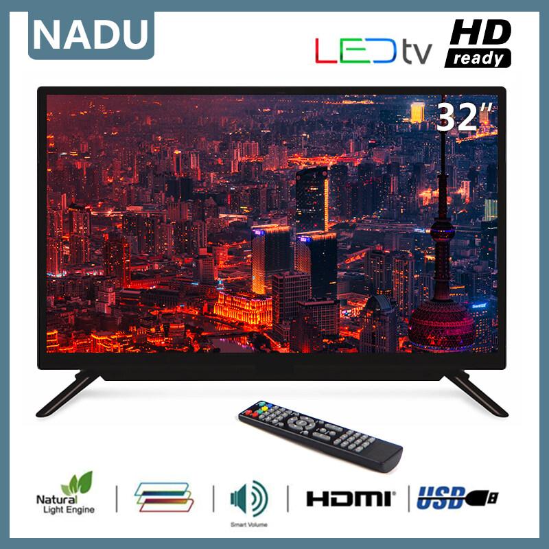 [ข้อเสนอพิเศษ] ทีวีความละเอียดสูงขนาด 32 นิ้วรับประกันคุณภาพ 1 ปีทีวีอะนาล็อกขนาด 32 นิ้ว.