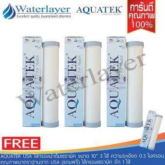 Aquatek USA ไส้กรองน้ำดื่มเซรามิค ขนาด 10
