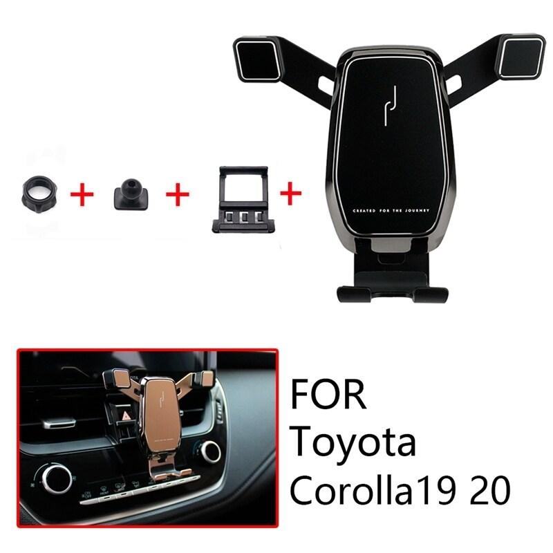 Car Mount Phone Holder Air Vent Clip Mobile Phone Holder for Toyota Corolla Altis Accessories 2019 2020 Car Accessories