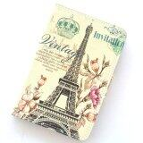 1St Cyber ไอแพดมินิ 4 ปารีส Vintage Paris Eiffel Tower Flower Leather Case For Apple Ipad Mini 4 ใน ไทย