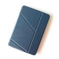 1st Cyber เคสไอแพด แอร์1 รุ่น Foldable Smart Clear Back TPU Case for Apple iPad Air1 (Darkblue)