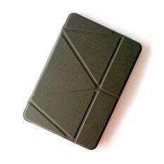 1st Cyber เคสไอแพด แอร์2 รุ่น Foldable Smart Clear Back TPU Case for Apple iPad Air2 (Black)