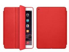 1st Shop เคสไอแพด แอร์ 2 Leather Flip iPad Air 2 Case Ultra slim PU Leather Flip Case For Apple iPad Air 2 (แดง)