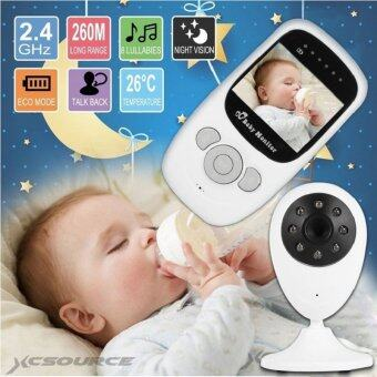 2.4\ Audio Video Baby Monitor Wireless Camera Night Vision Safety Viewer UK