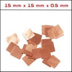 ราคา แผ่นทองแดงระบายความร้อน ขนาด 5 มิล จำนวน 5 แผ่น N K