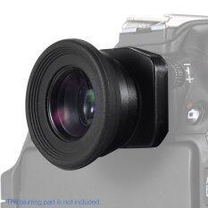 โปรโมชั่น 1 51X คงที่ Focus ช่องมองภาพช่องมองภาพ Eyecup แว่นขยายสำหรับแคนนอนนิคอน Sony Pentax Olympus Fujifilm กล้องซัมซุง Sigma Minoltaz Dsl กล้อง 2 ผ้าปิดตา นานาชาติ Unbranded Generic ใหม่ล่าสุด
