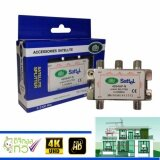 ซื้อ อุปกรณ์แยกสัญญาณ 1 X 4 Satellite Splitter Dby All Port Power Pass 4Way Dby ถูก