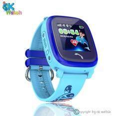 ขาย ซื้อ นาฬิกาป้องกันเด็กหาย หน้าจอทัชสกรีนกั้นน้ำ 100 มี Gps โทรได้ รับประกัน 1 ปี Wonlex รุ่นGw400S สีฟ้าลายการ์ตูน ใน กรุงเทพมหานคร