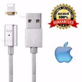 โปรโมชั่น ของแท้ 100 Hoco U16 สายชาร์จ สีเงิน สีทอง Iphone Ipad หัวแม่เหล็ก สายยาว 1 2 เมตร Hoco U16 Magnetic Data Cable For Iphone Ipad Hoco