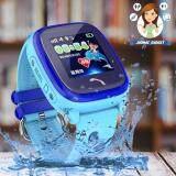 ซื้อ นาฬิกาป้อนกันเด็กหาย โทรได้ กันน้ำ 100 ระดับ Ip67 หน้าจอสีระบบสัมผัส Wonlex รุ่น Gw400S สีฟ้า ถูก ใน Thailand