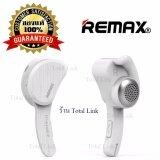 ทบทวน ของแท้ 100 Remax หูฟังบลูทูธ สีขาว Remax Bluetooth 4 1 รุ่น Rb T10